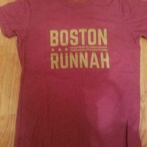 LIKE NEW Boston Runnah tshirt